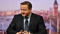 David Cameron emotional at cabinet farewell