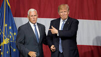 Donald Trump names Mike Pence as running mate