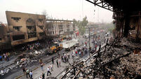 At least 115 killed in two Iraq bombings
