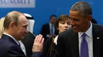 Vladimir Putin seeking US relations upturn