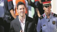 Messi guilty of €4.1m tax fraud but will not go to jail