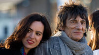 Rockin' Ronnie Wood excited about being a father again