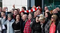 Liverpool holds vigil; the Times of London admit Hillsborough front page omission a mistake