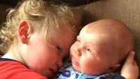 Twin brothers born two years apart through IVF