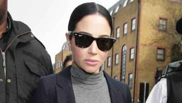 Tulisa hit with ban after Ferrari crash