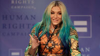 Kesha receives LGBT award