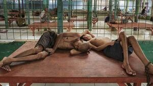 Mentally ill patients in Indonesia shackled and abused