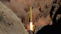 Iranian missiles marked with 'Israel must be wiped out'