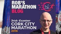 Rob's Cork City Marathon Blog Week 4 - How to deal with nosy questions about your time target