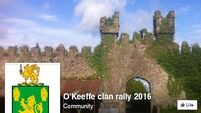 O'Keeffes worldwide are invited to County Cork