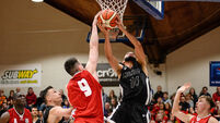GCD Swords Thunder v Templeogue - Basketball Ireland Men's National Cup Final