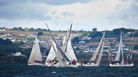 Conditions set to improve as serious racing action begins at Volvo Cork Week