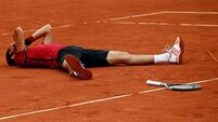 Novak Djokovic takes his place amongst greats and now eyes Golden Slam