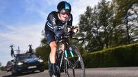 Nicolas Roche lands national double
