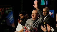 Steve Davis says farewell after Crucible exit