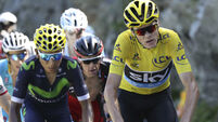 Chris Froome in a class of his own