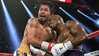 Manny Pacquiao back with a bang