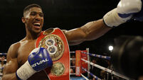 Anthony Joshua likely to fight same night as Tyson Fury