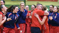 Megan O'Leary beats the buzzer for Singleton's Supervalu Brunell
