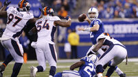 Luck turns for Indianapolis Colts as Peyton Manning's Denver Broncos beaten