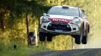 Kris Meeke and Paul Nagle take second at Wales Rally GB