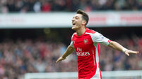 Mesut Ozil stepping up to bail out Arsenal