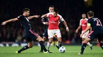 Arsenal stun Bayern Munich to keep Euro dreams alive
