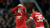 Wayne Rooney misses spot-kick as United pay the penalty