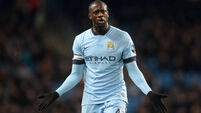 Unhappy Toure 'disgusted' with English media