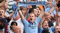 Manchester City in hot water as fans jeer Uefa anthem