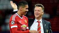 Louis van Gaal hails 'leader' Chris Smalling