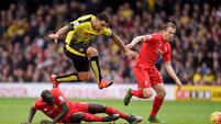 Watford v Liverpool - Barclays Premier League - Vicarage Road