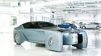 Rolls-Royce surprises with self-driving Vision Next 100