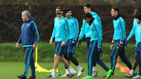 Chelsea v Porto - UEFA Champions League - Group G - Chelsea Training and Press Conference - Cobham Training Ground