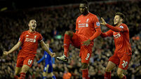 Liverpool v Leicester City - Barclays Premier League - Anfield