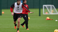 Steven Gerrard back on familiar ground as he makes return to Liverpool training