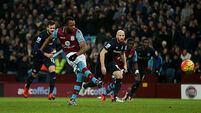 Aston Villa v West Ham United - Barclays Premier League - Villa Park