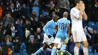 Manchester City v Swansea City - Barclays Premier League -  Etihad Stadium