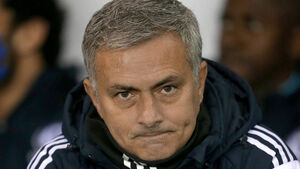 Jose Mourinho plots strategy from afar