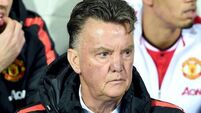 Save the boos for me, says Louis Van Gaal