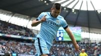 Manchester City hitman Sergio Aguero has Liverpool in sights