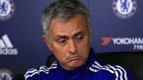 Sulking Jose Mourinho now a fireball of negative energy at Chelsea