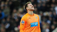 Rob Elliot adds to Ireland's goalkeeper crisis
