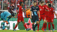 Arsenal on brink after Bayern bashing