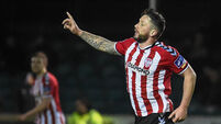Last-gasp Rory Patterson header extends Derry run