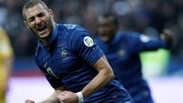 Valbuena and Benzema out of French squad