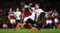 Cracks appear in Tottenham's title dreams after West Ham blow