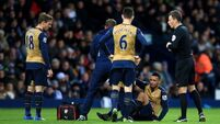Arsenal's injury crisis deepens as Champions League tie against Dinamo Zagreb beckons