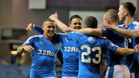 Rangers win seals return to top flight