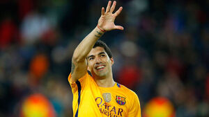 Luis Suarez hits four as Barcelona net eight to get back on track
